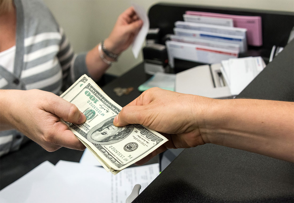 передача займа наличными денежными средствами